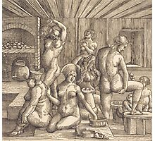 Albrecht Durer  - Women s Bath  1505-1510 Woman Portrait Fashion Photographic Print