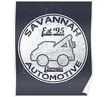 Savannah Automotive Poster