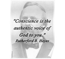 Hayes - Conscience Poster