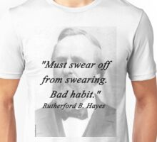 Hayes - Swearing Unisex T-Shirt