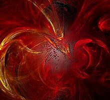 Phoenix - Bird of Fire by LuciaS