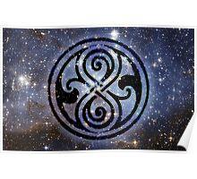 Gallifreyan's Seal of Rassilon Poster