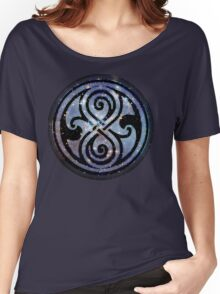 Gallifreyan's Seal of Rassilon Women's Relaxed Fit T-Shirt