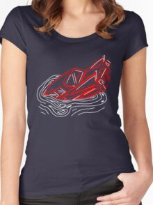 car-pool Women's Fitted Scoop T-Shirt