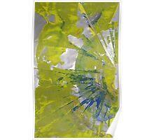 The Sun, Body of Spiritual Emptiness - Original Wall Modern Abstract Art Painting Poster