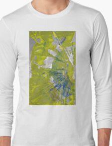 The Sun, Body of Spiritual Emptiness - Original Wall Modern Abstract Art Painting Long Sleeve T-Shirt