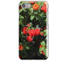 Flower Covered Bush iPhone Case/Skin