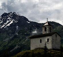 Chapel , St, Bernard  France  by skid