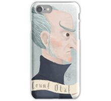 Count Olaf iPhone Case/Skin