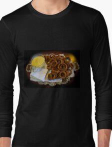 World's Best Onion Rings At Joe's Long Sleeve T-Shirt