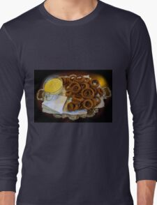 World's Best Onion Rings At Joe's Long Sleeve T-Shirt