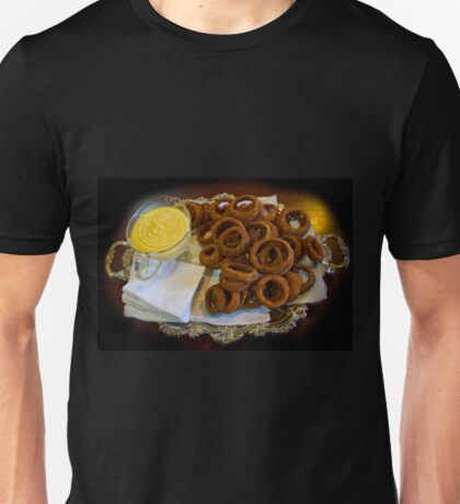 World's Best Onion Rings At Joe's Unisex T-Shirt