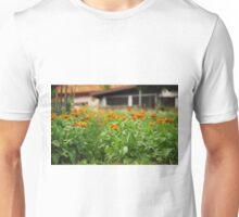 Orange Marigolds Unisex T-Shirt
