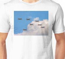 Team Orlik 7-ship arrow formation Unisex T-Shirt