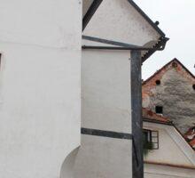 Historic Street in Skofja Loka 3 Sticker