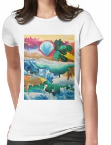 Creations of Light Reflections Womens Fitted T-Shirt
