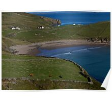 Traloar Beach, Muckross Head, Donegal Poster