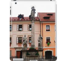 Mark of Mary Statue in Skofja Loka 1 iPad Case/Skin