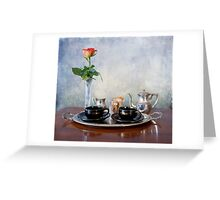 Honeymoon espresso  Greeting Card