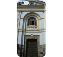 Door on a Building with Columns iPhone Case/Skin