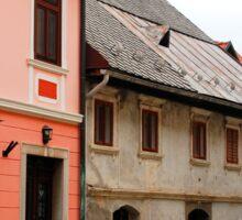Historic Buildings in Skofja Loka 1 Sticker