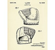 Baseball Mitt-1945 Photographic Print