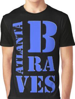 Atlanta Braves Typography Graphic T-Shirt