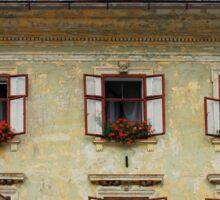 Historic Building in Skofja Loka 1 Sticker