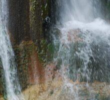 Salino Waterfall Detail 3 Sticker