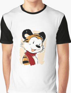 Hobbes and the red scarves Graphic T-Shirt