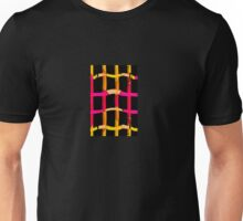 Bars Abstract Unisex T-Shirt
