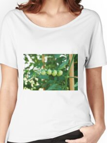 Green Tomatoes on the Vine Women's Relaxed Fit T-Shirt