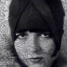 The Louise Brooks Tattoo Take 2 by Sarah Vernon