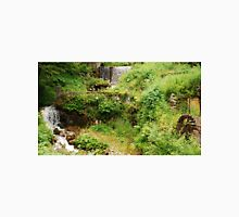 Mill Water Wheel and Stream Unisex T-Shirt