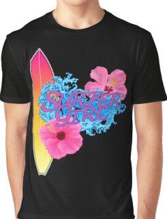 Surfer Girl Graphic T-Shirt