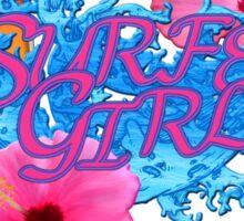 Surfer Girl Sticker