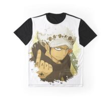One Piece Anime - Trafalgar Law Graphic T-Shirt
