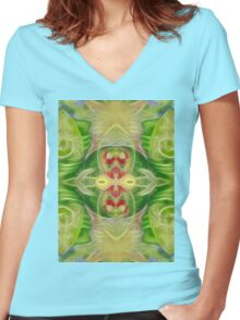 III - The Empress Women's Fitted V-Neck T-Shirt