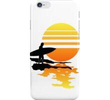 Surfing Sunrise iPhone Case/Skin
