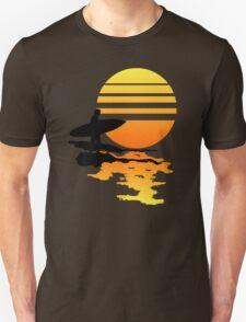 Surfing Sunrise Unisex T-Shirt
