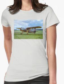 Fairchild 24R-46A Argus III HB751 G-BCBL Womens Fitted T-Shirt