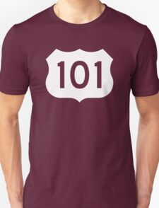 US Route 101 Sign - Contrast Version T-Shirt