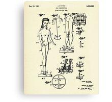 Doll-1961 Canvas Print