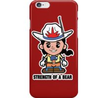 Lil Bravestarr iPhone Case/Skin