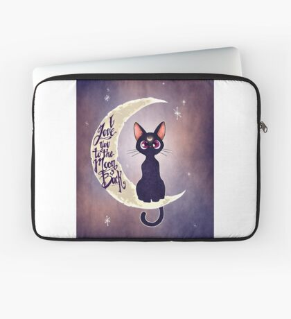 I love you to the moon & back (remix) Laptop Sleeve
