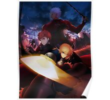 Fate/stay night: Unlimited Blade Works (Official Poster) Poster