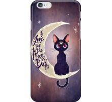 I love you to the moon & back (remix) iPhone Case/Skin