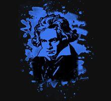 Ludwig Van Beethoven Tribute (blue) Unisex T-Shirt