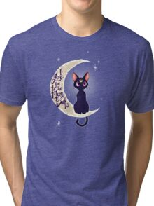 I love you to the moon & back (remix) Tri-blend T-Shirt