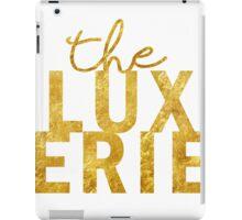 Gold Lux iPad Case/Skin